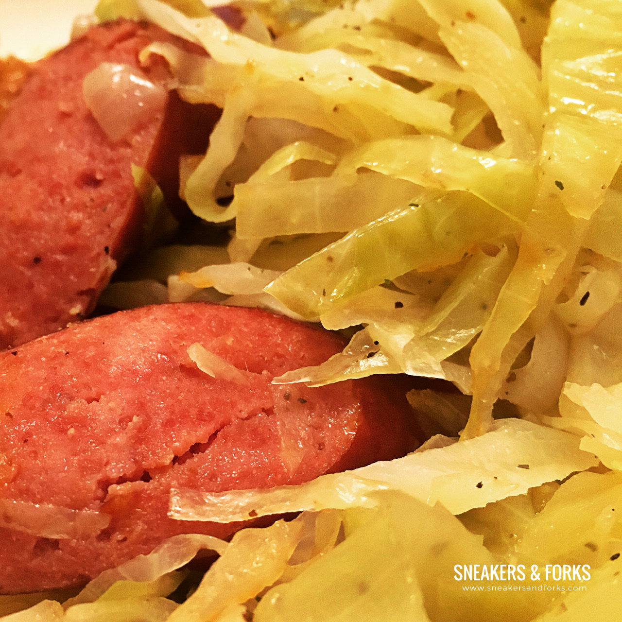 Low-Carb-Meal-ideas-cabbage-sausage
