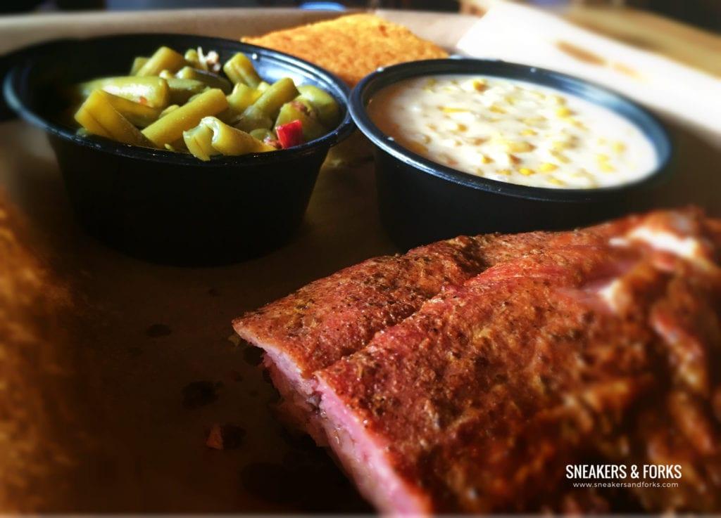 Porks Ribs at Mission BBQ