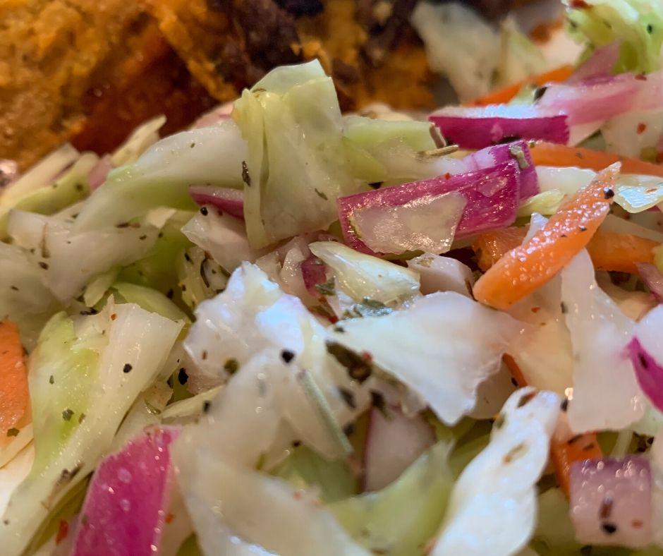 Curtido El Salvadoran Cabbage Salad